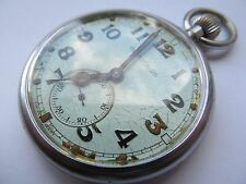 Vintage Jaeger-LeCoultre army pocket watch gstp F050582