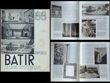 BATIR N°55 1937 EXPOSITION PARIS 1937, HENRY VAN DE VELDE, EGGERICX, BAUGNIET