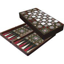 Orientalisches  Luxus Tavla Backgammon нардыn XXL 49 x 49 cm. Hochglanz