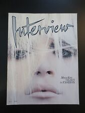 Interview Magazine March 2009 Mary Kate Olsen
