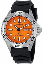 NEW MEN'S SEIKO SOLAR POWERED 200M AIR DIVERS ANALOG SPORTS WATCH SNE109P1