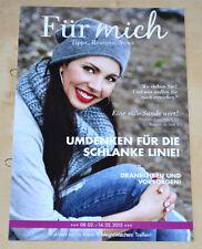 Weight Watchers Meine Woche 8.2 - 14.2 Für Mich ProPoints 2015 Wochenbroschüre