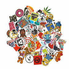 100pc Guitar Travel Case Stickers pack decals sticker Random Vinyl Skateboard