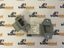Land Rover Series 2 & 3 Door Striker Lock Plate x2 - Bearmach - MTC4195 BR 2110