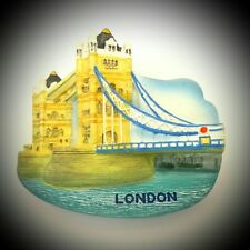 Fridge Magnet London Tower Bridge Polyresin HQ Souvenir For Collection Gift M258