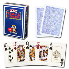 New 8 Decks Modiano 100% Plastic Playing Cards Poker Size Jumbo Index - 2 Colors