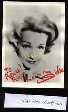 C1964 ORIGINAL MARLENE DIETRICH AUTOGRAPHED PHOTO, SIGNED TO R. RIGG-LAWSON.