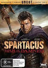 SPARTACUS: War Of The Damned TV Series SEASON 3 = NEW R4 DVD sealed