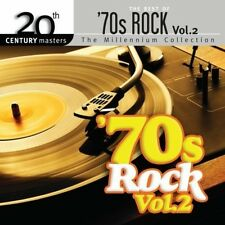 Millennium Collection-20th Century Masters, Vol. 2: Best of 70's Rock New CD