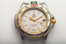 MINT $3000 Vintage Tag Heuer Automatic Mens COLLECTOR Watch 18K Gold SS RARE