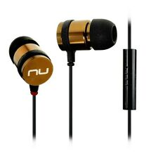 NuForce NE-700M In Ear Isolating Earphones with Mic - Smoky Bronze - NEW