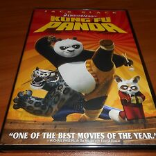 Kung Fu Panda (DVD, 2008, Widescreen) Jack Black Dreamworks Animated  Used
