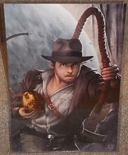 Indiana Jones Glossy Print 11 x 17 In Hard Plastic Sleeve