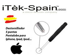 DESTORNILLADOR PENTALOBE APPLE IPHONE 4S 4 4G G S 5 6 PUNTAS SCREWDRIVER TOOL