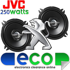 "PEUGEOT 206CC altoparlante Rear Upgrade 98-06 JVC 4 "" 10cm 420 WATT MAX POWER COPPIA"