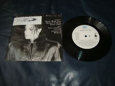 MICHAEL JACKSON / WHO IS IT / ROCK WITH YOU VINYL 7""