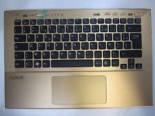 Sony Vaio SVS13 Serie Tastatur mit Obergehäuse Touchpad FR P/N: 9Z.N6BLF.201