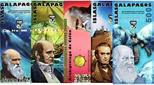 LOT SET SERIE 5 BILLETS Galapagos NUEVOS SUCRES POLYMER 2009 - 2011  UNC NEUF