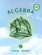 (USED)Elementary and Intermediate Algebra for College Students by Angel, Allen R