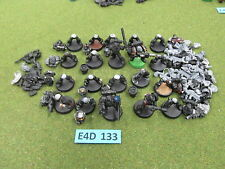 Warhammer 40K Space Marine army lot - 20 partially painted Tactical Troops ee