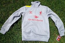 FC Liverpool allenamento Sweat Top + Taglia S + Nuovo Warrior per UOMO/MEN SWEATER