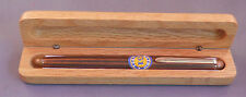 Retro 51 Rollerball Pen-bronze-lined cap and barrel in wooden box