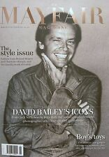 JACK NICHOLSON COVER DAVID BAILEY ROLAND MOURET THE MAYFAIR MAGAZINE MARCH 2014