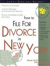 How to File for Divorce in New York: With Forms