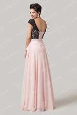 GRACE KARIN Long Evening Formal Cocktail Gowns Party Prom Wedding Backless Dress