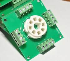 octal 8Pin Tube sockets Experiment boards x1 tube project diy prototype test bot