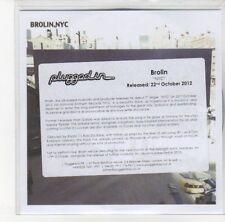(DL411) Brolin, NYC - 2012 DJ CD