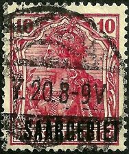 PAPER-GEMS old SAAR stamp used xf