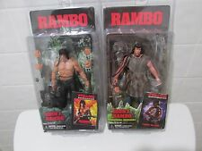 STALLONE AS JOHN J RAMBO FIRST BLOOD PART II & SURVIVAL MODE - 2 ACTION FIGURES!