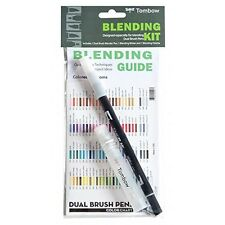 Tombow Blending Kit, Palette, Mister,  Colorless Blender, 1 Pack