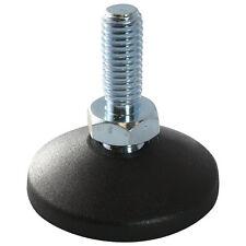 MINI Gelenkfuß Gelenkstellfuß Stellfuß 20 PA GewindestangeSpindel M5x20mm Stahl