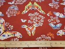 "1 yard Rowan ""Queen Ann's Butterflies"" Fabric"
