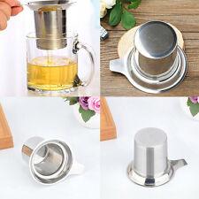 Edelstahl-wiederverwendbare Ineinander greifen-Tee-Infusor-Sieb-losen Tee Filter