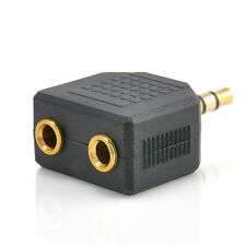3.5mm New Earphone Headphone Y Splitter 1 to 2 Cable Cord Adapter Jack Plug Tool