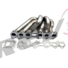 REV9 HP SERIES 93-98 SUPRA 2JZGTE EQUAL LENGTH TURBO MANIFOLD STAINLESS T4 2JZ