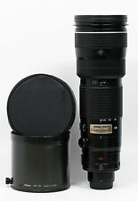 US Nikon Zoom-NIKKOR 200-400mm f/4 SWM AF-S VR IF ED G Lens Excellent Plus