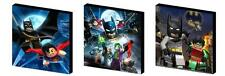 LEGO BATMAN CANVAS ART BLOCKS/ WALL ART PLAQUES/PICTURES