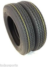 TWO 4.80-8 LRC 6 PR Bias Trailer Tire 4.80x8 boat jet ski LOAD C 480 8