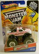 MADUSA MONSTER JAM TRUCK WITH TATTOO DIECAST HOT WHEELS RARE HAS SHELF-WARE READ
