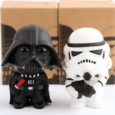 "NEW In BOX 2pcs set Star Wars Darth Vader & Stormtrooper 4"" Action Figures Gift"