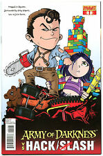 ARMY OF DARKNESS HACK SLASH #1, VF+, Variant, 2013, Horror, more AOD in store