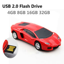 Cool Red Car Pen Drive 8GB USB Memory Stick Flash Drive Thumb Drive USB Disk