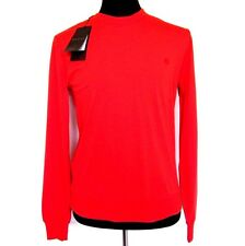 L-3273992 New Gucci Red Long Sleeved Sweater T-Shirt Shirt Size US-XL