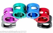 ANAQUDA - SCOOTER DOUBLE CLAMP - PRO SCOOTER CLAMP - 31.8mm - STANDARD - BLUE