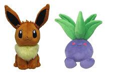 Sanei Pokemon Go All Star [Set of 2] Stuffed Plush - PP07 Eevee & PP03 Oddish