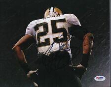 Reggie Bush Saints Signed 8x10 Photo Autograph Auto PSA/DNA AB44992